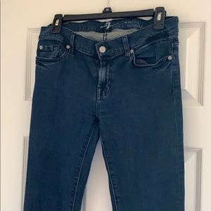 7 For All Mankind Size 30 Skinny Bootcut Jeans